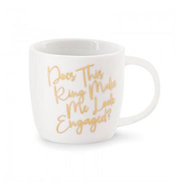 Make Me Look Wedding Gold Mug