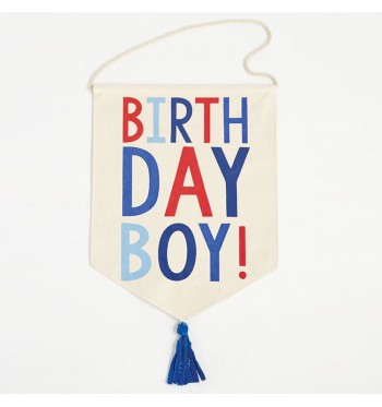 Birthday Boy Banner