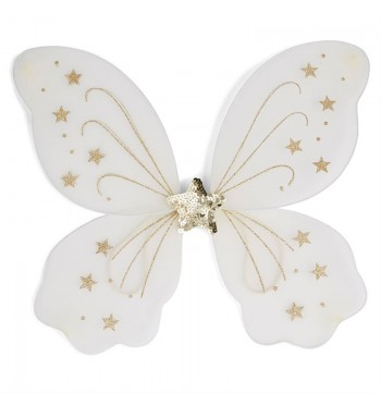 Star Glitter Fairy Wings