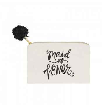Maid of Honor Inspired Cosmetic Bag