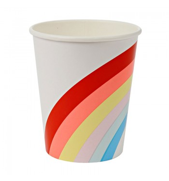 Somewhere Over the Rainbow Party Cups