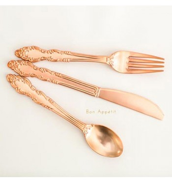 Sovereign Rose Gold Flatware