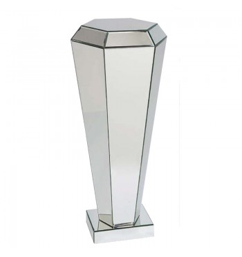 Diamond Clear Mirror Pedestal