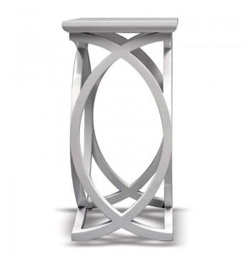 White Infinity Pedestal