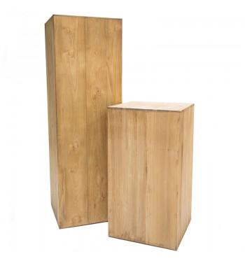 Wood Pedestal
