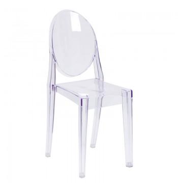 Ghost Armless Chair