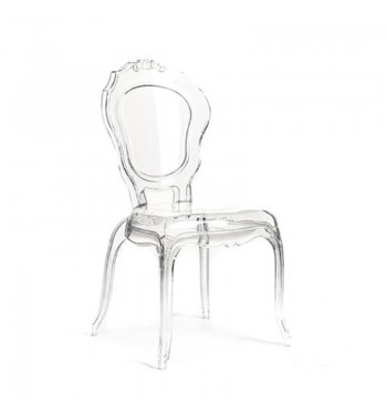 Mademoiselle Transparent Chair