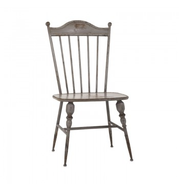 Metal Farmhouse Chic Chair