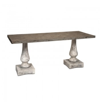 Pedestal Wood Table