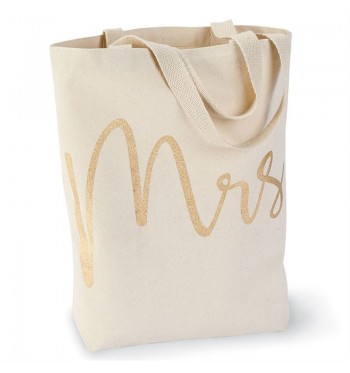 Mrs. Canvas Tote