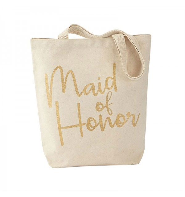 Maid of Honor Canvas Tote