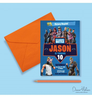 Fortnite Stationary Birthday Theme