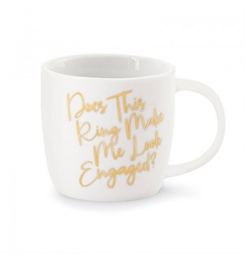 Make Me Look Wedding Gold Mug