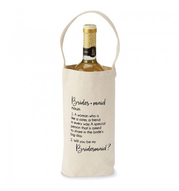 Bridesmaid Wine Bag