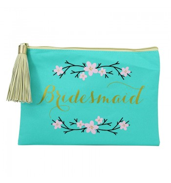 Bridesmaid Chic Travel Tassel Case