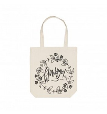 Flower Girl Inspired Tote
