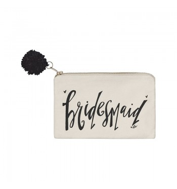 Bridesmaid Inspired Cosmetic Bag