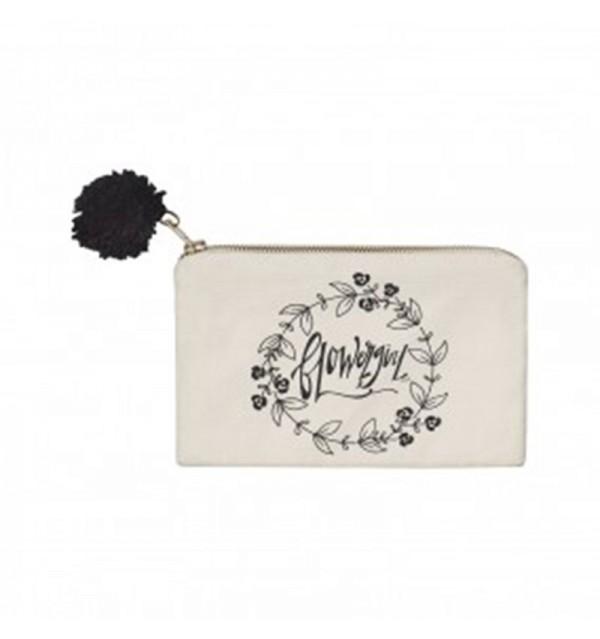 Flowergirl Inspired Cosmetic Bag