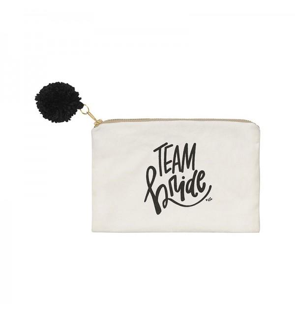 Team Bride Inspired Cosmetic Bag
