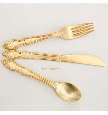 Sovereign Gold Flatware