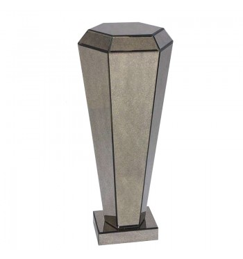 Diamond Antique Mirror Pedestal