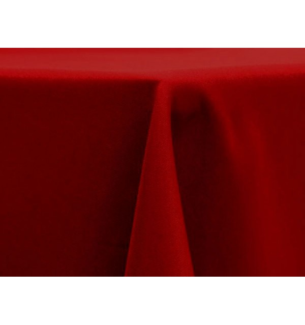 Polyester Cherry Red
