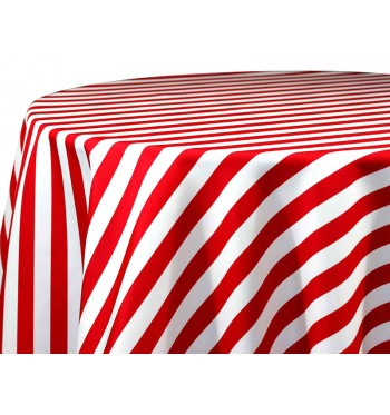 Red Awning Stripe