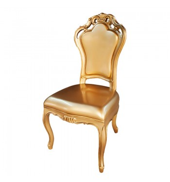 Gold French Baroque Chair