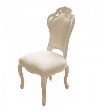 Nude French Baroque Chair