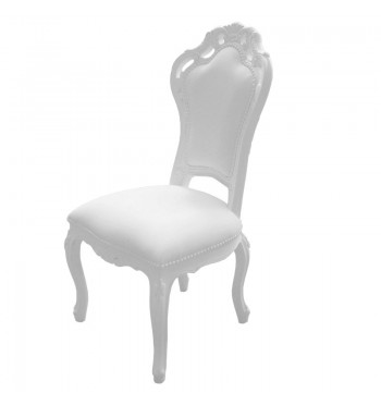 White French Baroque Chair