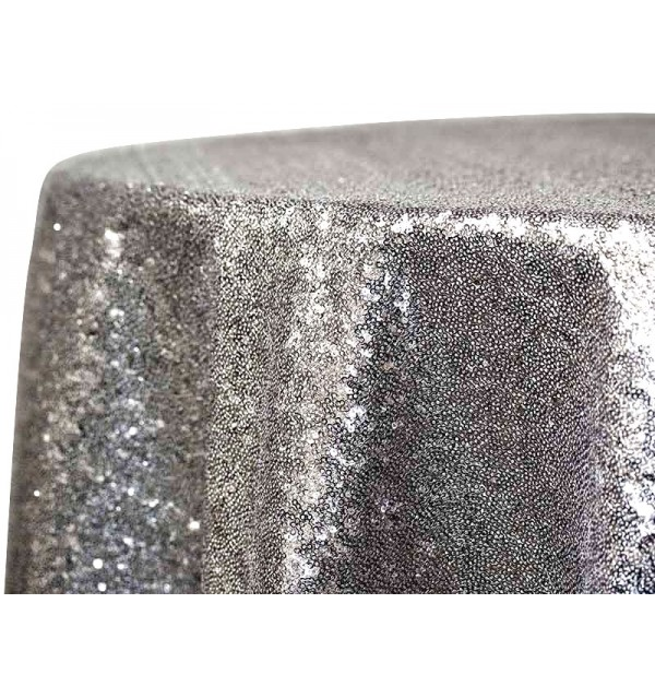 Glam Sequins Charcoal