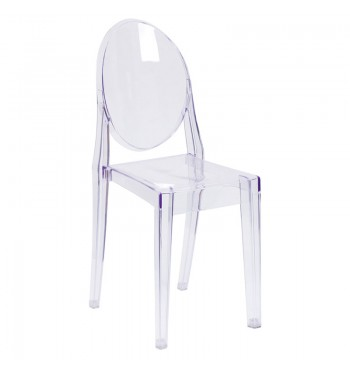 Ghost Armless Chair