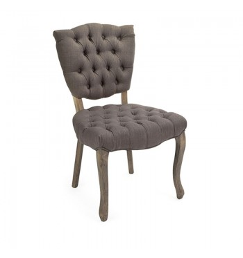 Mod Armless Chair - High Back