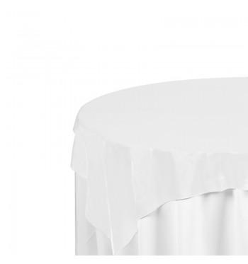 White Polyester Overlay