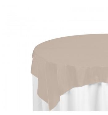 Beige Polyester Overlay