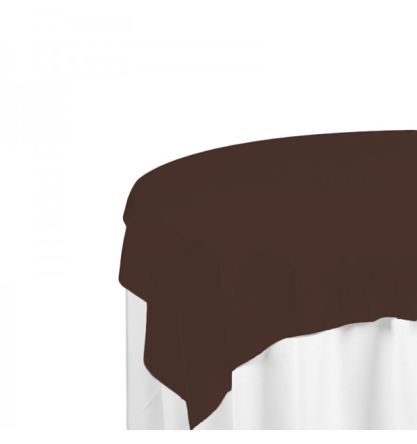Brown Polyester Overlay