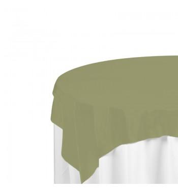 Light Olive Polyester Overlay