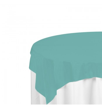 Aqua Polyester Overlay