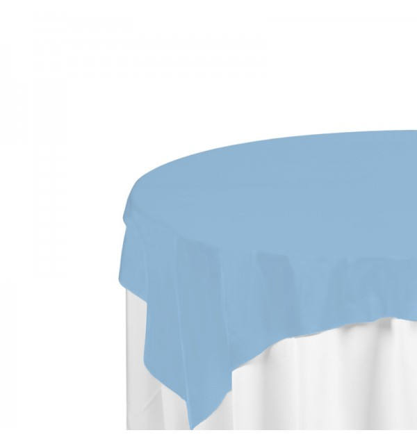 Light Blue Polyester Overlay