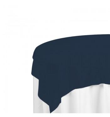 Navy Polyester Overlay