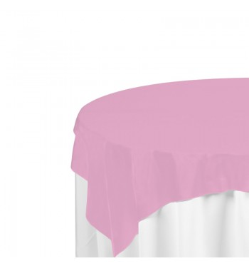 Pink Polyester Overlay