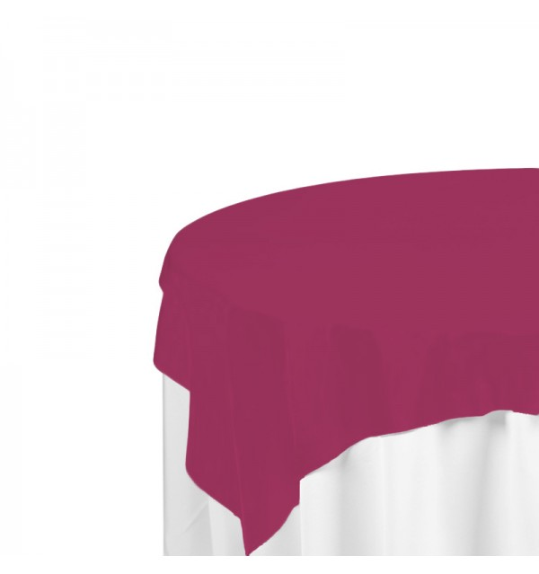 Raspberry Polyester Overlay